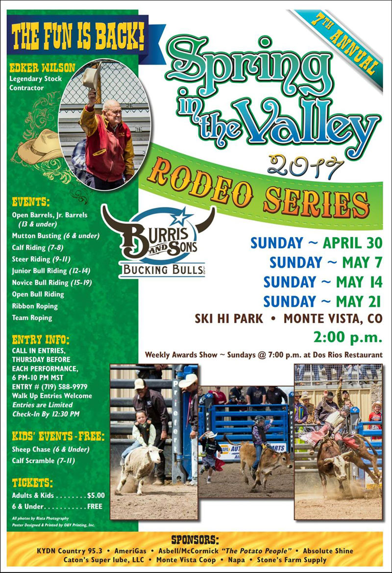 spring in valley rodeo